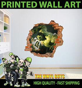 pared-ROMPA-Hulk-Increible-Vinilo-adhesivo-de-Decoracion-Estampado-Pegatina