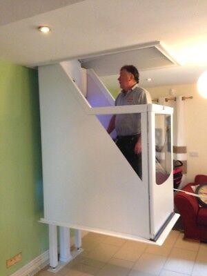 1 Etage Rollstuhllift HebebÜhne Senioren Lift Fahrstuhl Aufzug Treppenlift Komplette Artikelauswahl