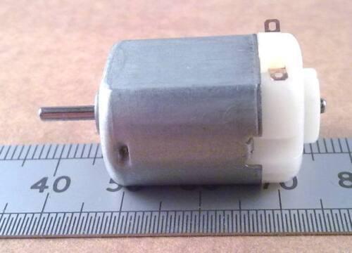 3V valutato D.C in Miniatura Modello REVERSIBILE MOTORE albero 2mm Qtà 10