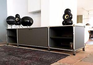 system 180 lowboard medien tv schrank 183 breit ebay. Black Bedroom Furniture Sets. Home Design Ideas