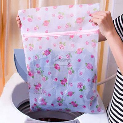 3x Clothes Washing Bag Laundry Bag Mesh Socks Bra Lingerie Wash Bag Net Pouch