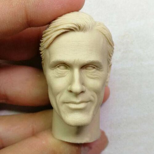 "Blank 1//6 The German Generals Hans Landa Head Sculpt Unpainted Fit 12/"" A Style"