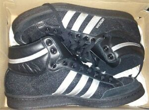 88 Adidas Basketball Canvas Top High Originals Hi Americana Black ABqTXwpB