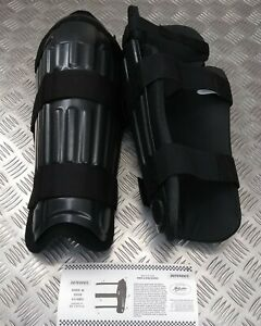 Genuine British Security Forces & Police Issue Riot P.O Shin And Knee Guard Set