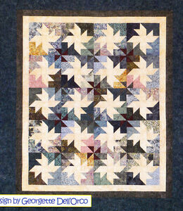 Milky-Way-pieced-quilt-PATTERN-for-2-5-034-strips-Cozy-Quilts-4-sizes