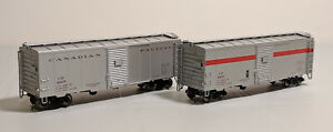HO-True-Line-Trains-CP-Express-40ft-Box-Cars-Set-of-2-4905-amp-4907-See-Notes