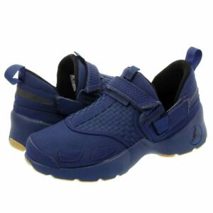 wholesale dealer e7785 5e42b Image is loading Air-Jordan-Trunner-LX-897992-401-Navy-Gum-