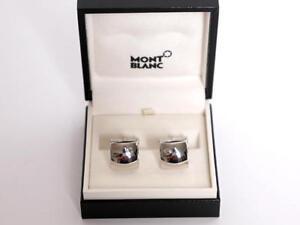 Montblanc-925-Sterling-Silber-Manschettenknoepfe