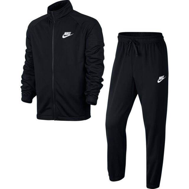 mens black nike jogging bottoms