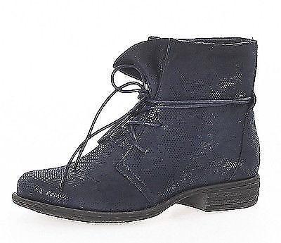 Damen Stiefeletten Schuhe Boots Schnürer Übergang Schuhe Stiefel 36-42  SM17