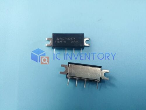 2 Stage For PORTABLE RADIO 1PCS RA07H4047M H46 400-470MHz 7W 12.5V