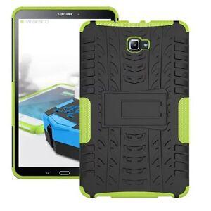 HIBRIDO-exteriores-Funda-Protectora-Verde-para-Samsung-Galaxy-Tab-A-10-1-T580