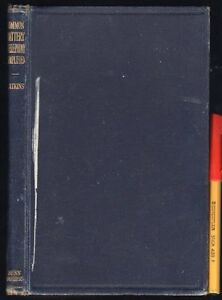 1921-Telephone-COMMON-BATTERY-TELEPHONY-SIMPLIFIED-139-page-hardcover-GC