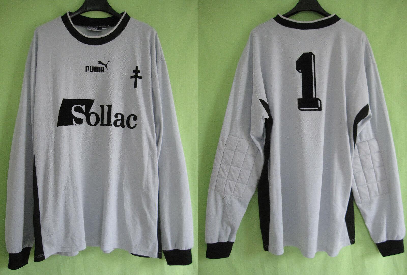 Maillot Vintage Gardien Manche Longue Sollac Fc Metz Puma jersey - XL