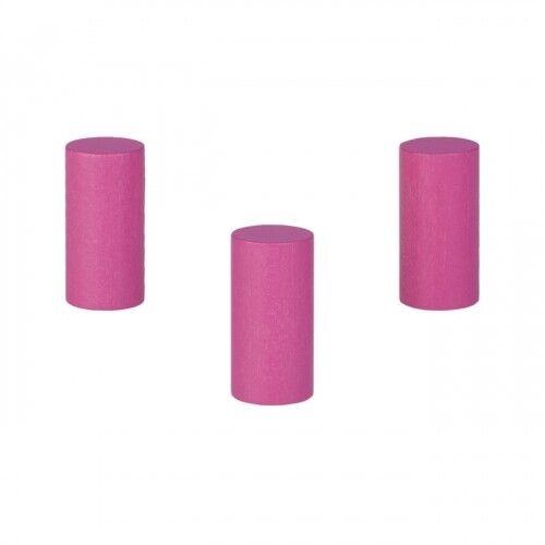 Cylindre-Rouleau Zeus - 17,5x34mm - Rose