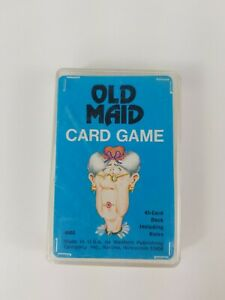 Vtg-1975-4902-Whitman-Old-Maid-Card-Game-Western-Publishing-Complete