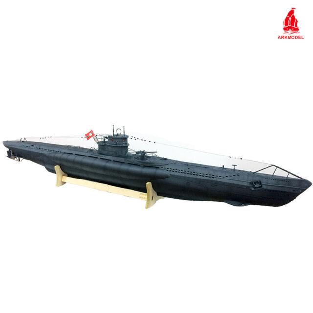 Arkmodel German U-boat Type VIIC Submarine 1 48 Scale Models Plastic Hobby  Kit
