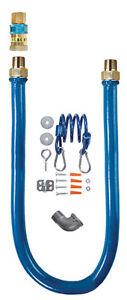 """Dormont 1675BPQR36 3/4"""" x 36"""" Quick Connect Commercial Gas flex Hose Kit"""