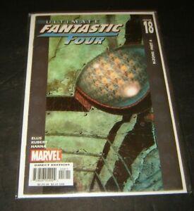 Ultimate Fantastic Four #18 comic Warren Ellis mint