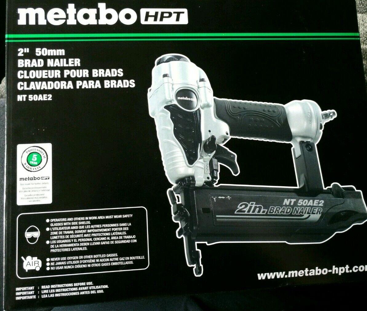 Metabo HPT Brad Nailer 2  50mm  NT 50AE2 NEW