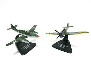 Dynamique Lot 2 Avions Ww2 1/72 Atlas Hawker Tempest + Messerschmitt - Model Aircraft 004 Prix RéDuctions
