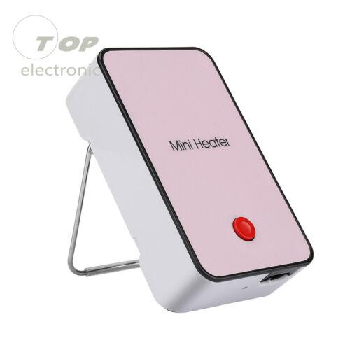 Mini Electric Heater Space Desk Fan Office Home Desktop Winter Warmer Portable