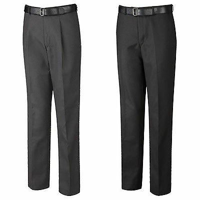 Genial David Luke Senior Flat Front Slim Trousers Official Uniform Boys Mens Eleganter Auftritt