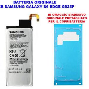 Batteria-Pila-Interna-Originale-Samsung-Galaxy-S6-Edge-G925-EB-BG925ABE-Adesivo