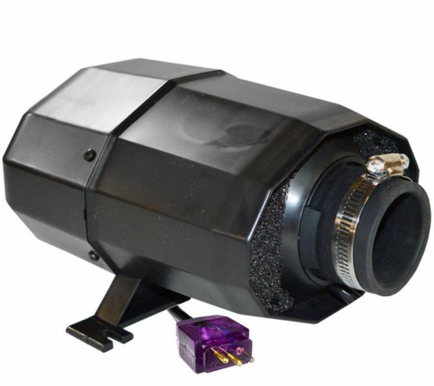 Hydro-Quip silent Air BLOWER serie700 low profile 1.5HP 120V w  4'cord+ J&J plug