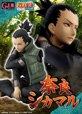 MegaHouse G.E.M Series NARUTO Shippuden Shikamaru Nara Figure NEW from Japan