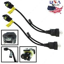 2 x Relay Wiring H4/9003 Bi-Xenon Hi/Lo Motorcycle HID Kit Harness Controller