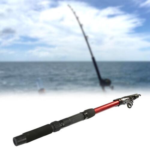 1.8M//2.1M Protable Fishing Telescope Fiberglass Outdoor Travel Fishing Rod Pole