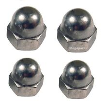 Honda C90 - A2 Stainless Rear Shock Absorber M10 + M12 Dome Nuts (x4 nuts)