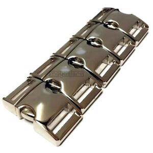 15mm-Paracord-hebillas-de-metal-hebilla-pulsera-steckverschluss-plata-Buckles