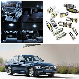 18 White Interior Led Light Kit For Bmw 3 Series F30 320i 328d 328i