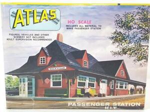 UNMADE-ATLAS-706-HO-GAUGE-AMERICAN-PASSENGER-RAILWAY-STATION