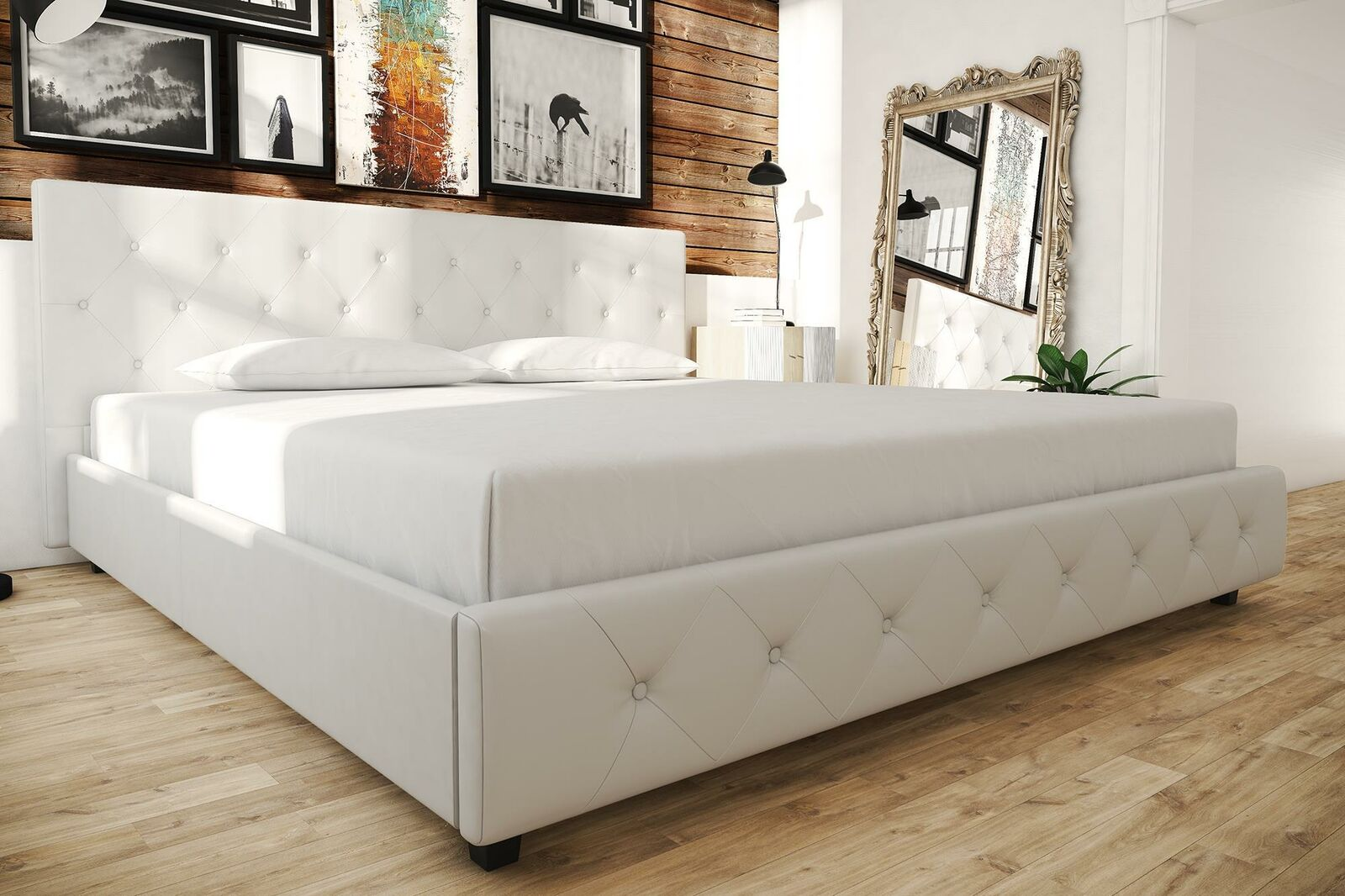 Picture of: Maitland Smith Campaign Leather Rattan Bamboo King Size Platform Bed Exc Cond For Sale Online Ebay