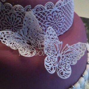 lace moulds for wedding cakes butterfly silicone fondant mold lace wedding cake 16689