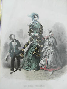 2-gravure-ancienne-mode-les-modes-parisiennes
