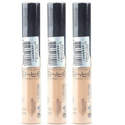 MISSHA The Style Under Eye Brightener Concealer #Natural Beige 3pcs wholesale