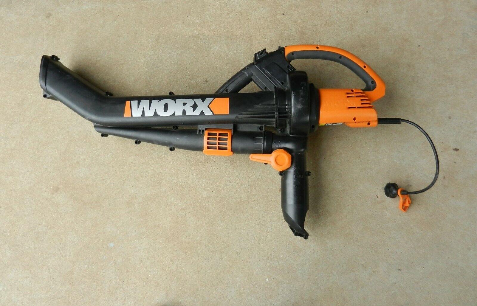 Soplador, Vacío & Desbrozadora Worx WG500E 2500W 3 en 1 eléctrico