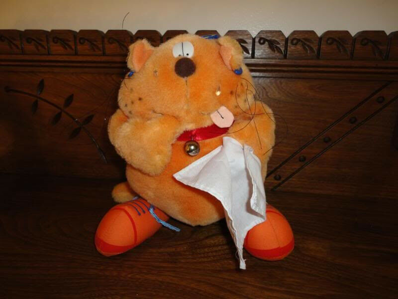 Andrew marronesword HOT CAT 9 inch arancia Stuffed Animal Plush 257 RARE