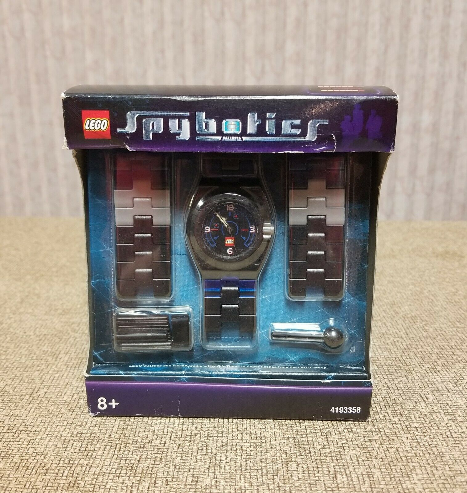 Lego Spybotics Wrist Watch 4193358 Factory Sealed - RARE