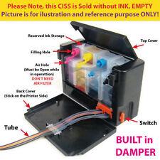 Empty DIY Continue Ink System CISS for HP DeskJet Ink Advantage 1015 1515 2515