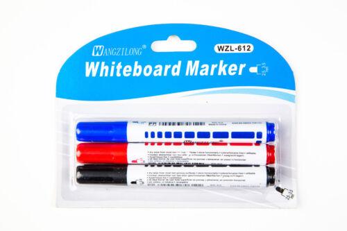 3er Set Stifte Whiteboardmarker Boardmarker Marker abwischbar