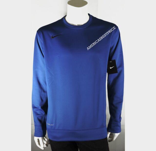 Sweatshirt Size Nike Fit Therma Team Neck Blue Men's M Ko Crew qnBw8Z