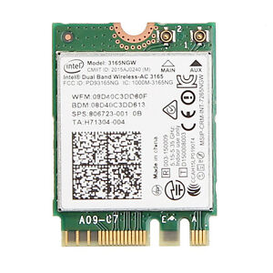 Intel Dual Band Wireless-AC 3165 Mac