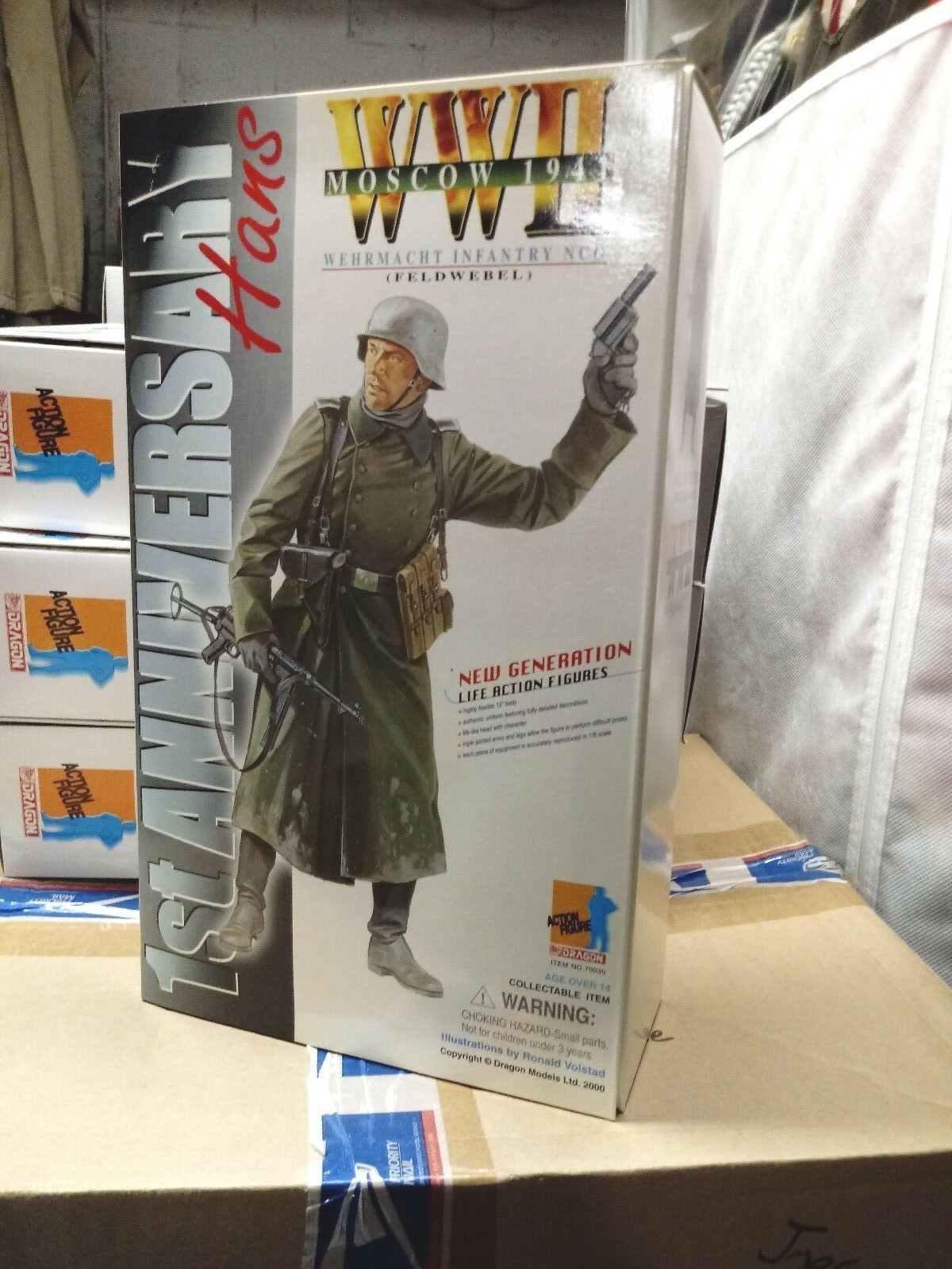 WW2 German Army NCO Hans Moscow 1941 1 6  1st Anniversary Figure