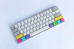 Details about 9 keys CMYK modifier for Mac keyboard replacement  keycaps-command-option