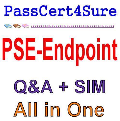 Professional Exam Q/&A+SIM Endpoint PSE